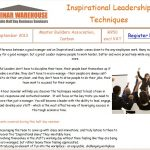 Leadership Seminar: September 2013