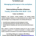 Managing Performance Workshop