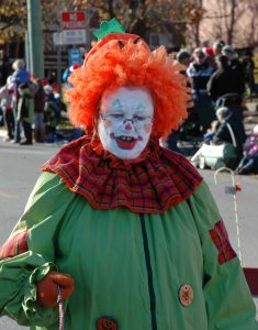Clown from morgueFile