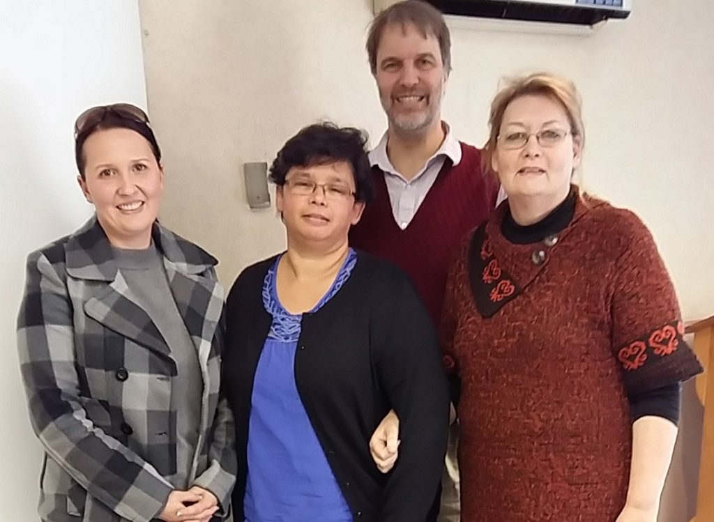 Penny, Venetia, Ian and Rosetta at the Simply Communicate workshop on Managing Problem Employees on 9 June 2015