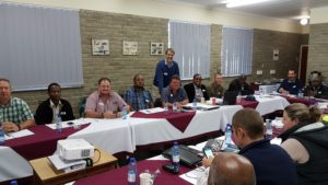 Training supervisors at Afrimat