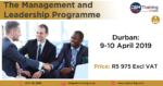 Management Training: A great opportunity