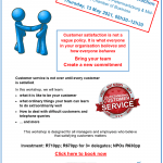 Getting beyond service to customer satisfaction: A workshop